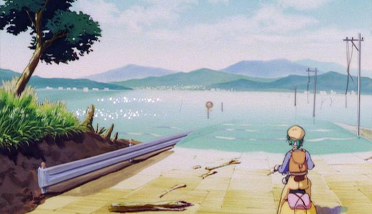 Yokohama kaidashi kikō : critique de l'anime